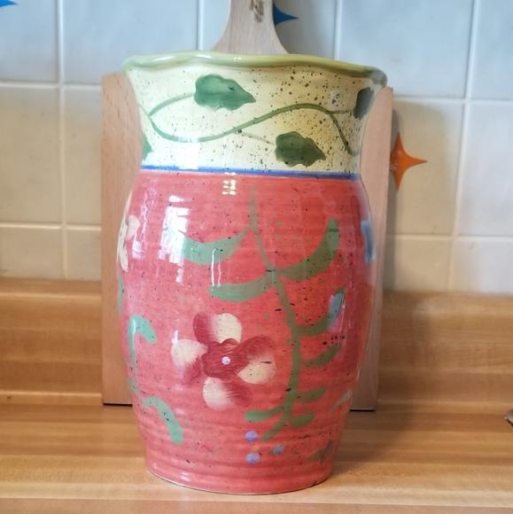 Floral Pottery Vase